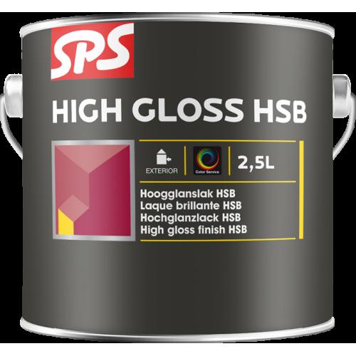 HIGH GLOSS HSB wit - blanc 2,5 lt